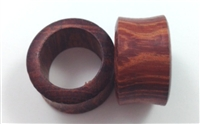 Pair of Red Tiger/Blood Wood Tunnels