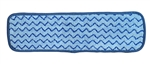 Microfiber Mop Pad - Hygiene Blue - Case of 100