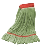 Microfiber Wet Mop - Green Large Wide