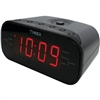 TIMEX T231GRY2 AM/FM Dual-Alarm Clock Radio with Digital Tuning (Gun Metal Gray)