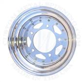cms wheel, Douglas, Centerline, Weld, saco custom metal spinning, Made in USA CMS spun aluminum heat treated wheels for VW Volkswagen have been the racer choice for years. This Cms spun aluminum wheel is used on Drag cars, offroad buggies and the occasion