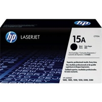 Original HP 15A C7115A Black LaserJet Toner Cartridge