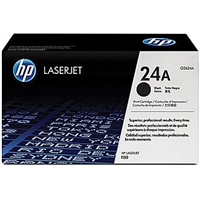 HP 24A Black Toner Cartridge (Q2624A)