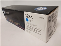 HP 128A, Cyan Original Toner Cartridge (CE321A)bstock
