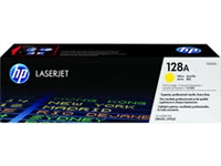 Original HP 128A CE322A Yellow LaserJet Toner Cartridge Bstock