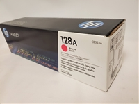 HP 128A, Magenta Original Toner Cartridge (CE323A) Bstock