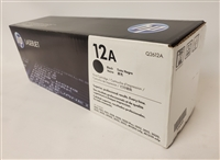 HP 12A Black Original Toner Cartridge (Q2612A) Bstock