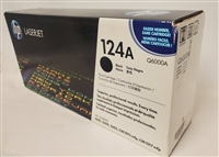 HP 124A, Black Original Toner Cartridge (Q6000A) Bstock