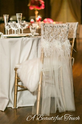 Handmade Chair Cover Rental