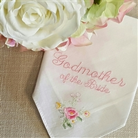 Godmother of the Bride Hankie