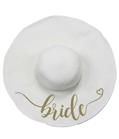 Bride Floppy Beach Hat