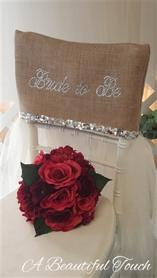 B2B Bling Chair Cover Rental
