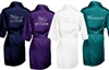 Satin Robes - Crystal Bridal Titles