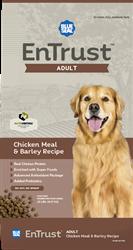 Blue Seal Entrust Chicken Meal Amp Barley Adult Dog Formula 20lb