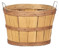 GARDEN BASKET HALF BUSHEL WITH HANDLES