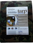 Camouflage Poly Tarp 12x16