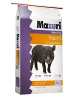 MAZURI MINI PIG YOUTH 25LB