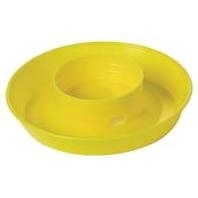 LITTLE GIANT 340 SCREW ON BASE FOR QUART WATERERS, YELLOW