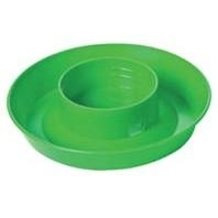 LITTLE GIANT 740 SCREW ON BASE FOR QUART WATERERS, LIME GREEN