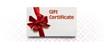 Gift Certificate - Any Amount