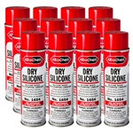 AlbaChem Dry Silicone Spray - 12 Pack