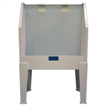 CCI E44P Polypropylene Washout Booth