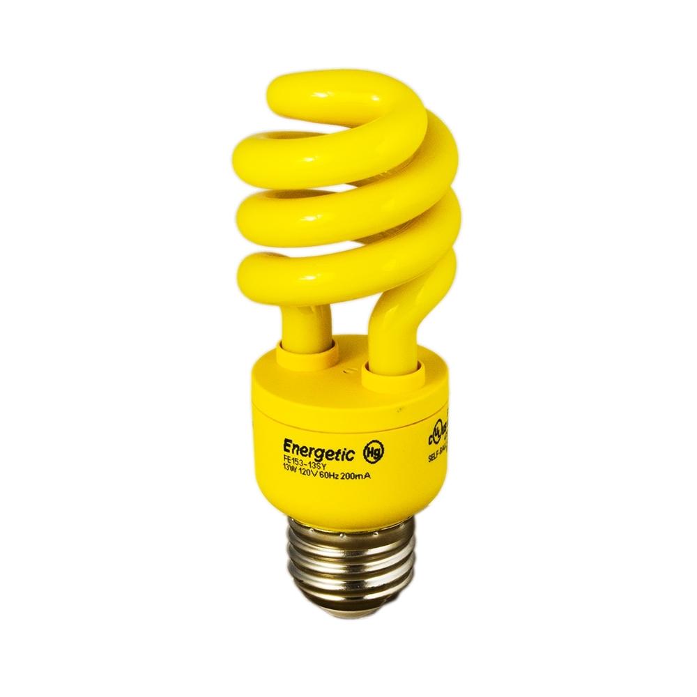 Energy Saving Light Safe Yellow Bulb