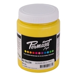 Permaset Aqua Supercover Ink - Mid Yellow - 300ml