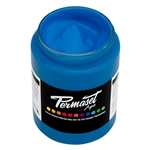 Permaset Aqua Standard Ink - Glow Blue - 300ml
