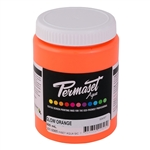 Permaset Aqua Supercover Ink - Glow Orange - 300ml