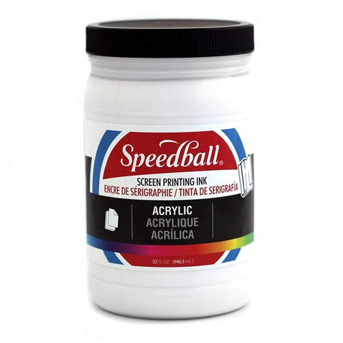 Speedball Acrylic Ink - White - 32 oz.