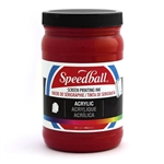 Speedball Acrylic Ink - Dark Red - 32 oz.
