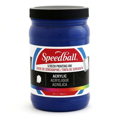 Speedball Acrylic Ink - Ultra Blue - 32 oz.