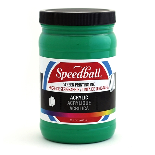 Speedball Acrylic Ink - Emerald - 32 oz.