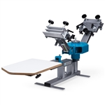 Workhorse Odyssey Benchtop Press - 2 Color / 1 Station