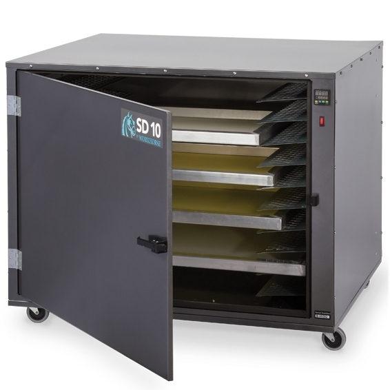 Screen Drying Cabinet ~ Workhorse sd series screen drying cabinet