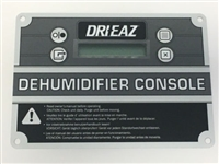 Control Panel For Dri-Eaz Dehumidifiers, 08-00259