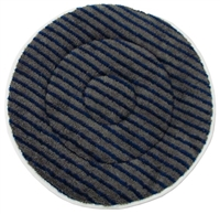 "17"" Microfiber Carpet Cleaning Bonnet w/Scrub Strips"