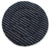 "19"" Microfiber Carpet Cleaning Bonnet with Scrub Strips"