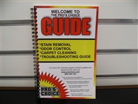 Pro's Choice Stain & Odor Removal Guide