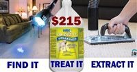 SOS & UNLEASHED Pet Stain and Odor Removal Kit