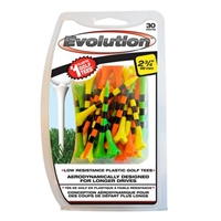 "Evolution Striped 2 3/4"" Mixed 30pk Tees"
