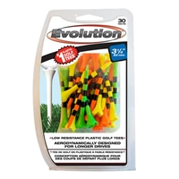 "Evolution Striped Tees 3 1/4"" Mixed 30pk"