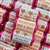 100 ROLLS PERSONALISED MINI LOVE HEART SWEETS- ORANGE