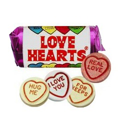 MINI LOVE HEART SWEETS 1kg