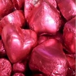 ROSE CHOCOLATE HEARTS 1kg