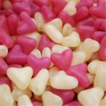 PINK & WHITE JELLY HEARTS 1kg