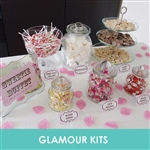 PERSONALISED DOT SWEETIE BUFFET-SIGN CARDS BAGS