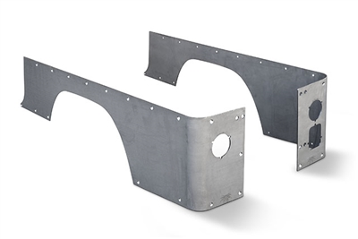 CJ-8 Crusher Corners - Standard (Steel)