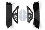 JK Rear Inner Fender Kit - Black